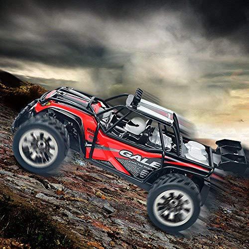RC Auto kaufen Truggy Bild 5: VATOS Ferngesteuertes Auto, Maßstab 1:16, 2,4 Ghz, Rennwagen, Rennrad-Crawler, Schwarz*