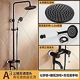 SADASD Robinet évier salle de bains moderne tire-bouchon cuivre robinet d'évier de cuisine, un seul trou mitigeur eau chaude et froide robinet vanne en céramique avec G1/2 flexible en acier inoxydable