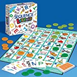 Akrobo Sequence Letters Board Game For Kids