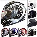 Leopard LEO-818 Full Face Motorcycle Motorbike Helmet from Touch Global Ltd