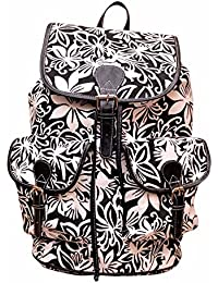 Moac Women's Shoulder Bag (Black/white)