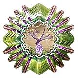 Iron Stop Windspiel Windspiel Animierte Libelle, Sepia, 25cm