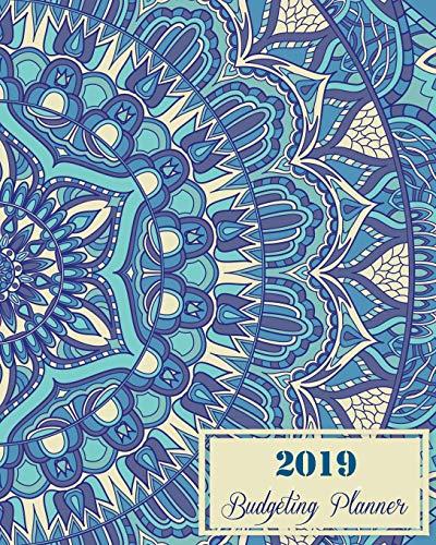 er: Blue Mandala, Daily Weekly & Monthly Budget Planner, 12 Months Calendar Financial Expense Tracker, Monthly Bill Organizer 8