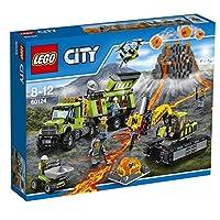 LEGO CITY BASE DELLE ESPLORAZIONI VULCANICHE 60124