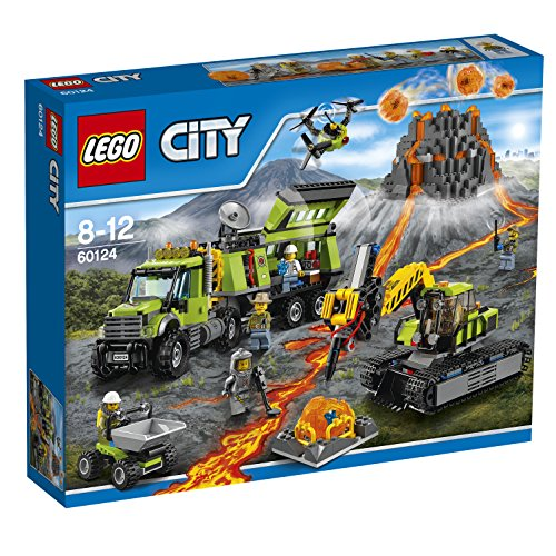 Die besten LEGO City Sets 2017 LEGO City 60124 - Vulkan-Forscherstation