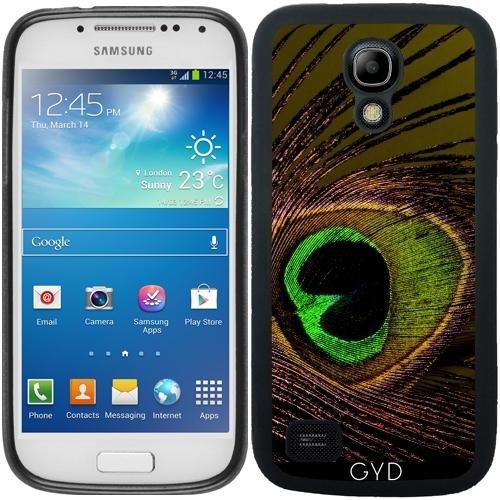 DesignedByIndependentArtists SilikonHülle für Samsung Galaxy S4 Mini (GT-I9195) - Pfau Pfau Vogel by ()