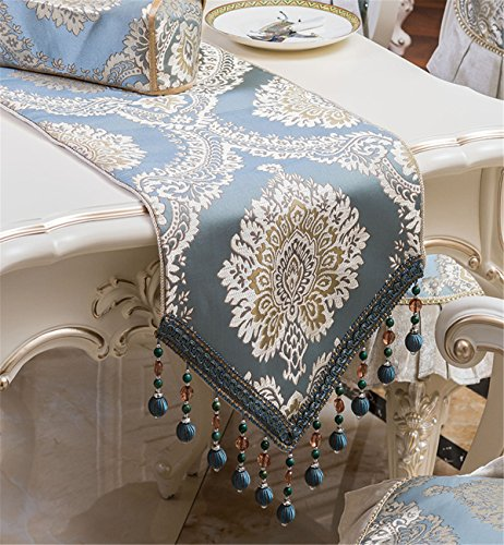 Sucastle 33x220cm Tuch Tischläufer Hochzeit Tischband ,abwaschbar (Farbe...
