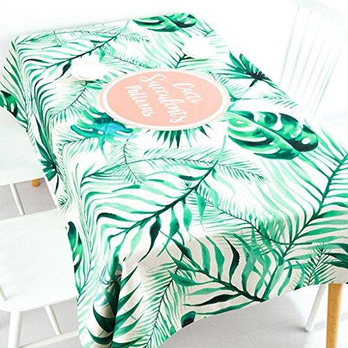 Nappes d'art simple petite nappe de lin fraîche multi-usages couvertures de tissu rond nappes , 004 , 85*85cm