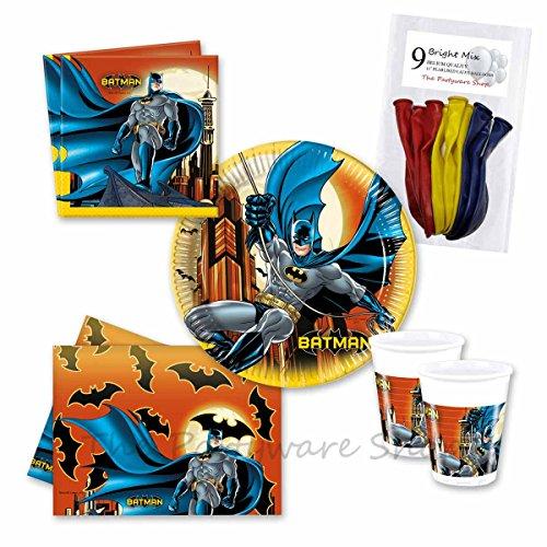 Batman Superhero fiestas (para 16