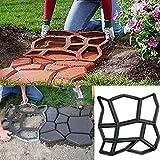 GUFAN DIY-Pflastersteinform für Gartenweg aus Betonplatten 45x 45x 4cm