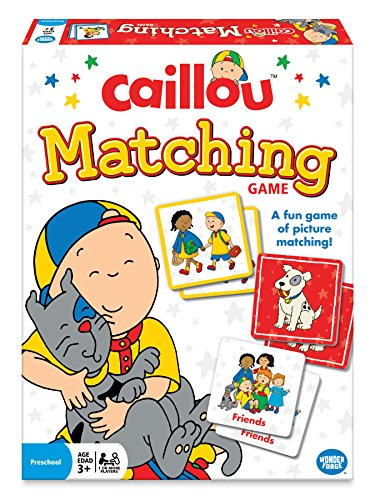 (The Wonder Forge Caillou Matching Game)