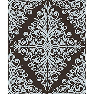 Dutch Wallcoverings 6837-2 Wallpaper Ornament Brown/Blue