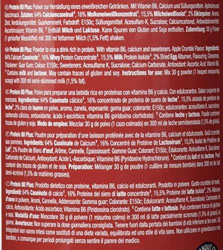 Weider 80 Plus Protein, Apple Crumble, Weihnachtsedition, Sonderedition, Limited Edition, 500 g - 3