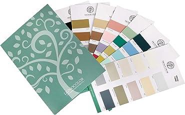 Lignocolor Old Shabby Chic Kreidefarbe Farbtonkarte ECHTAUFSTRICHE