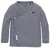 Noppies Baby - Jungen T-Shirt B Tee Ls Smal Yd, Gestreift, Gr. Frühchen (Herstellergröße: 44), Blau (Navy C166)