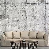 murando - Fototapete Beton 350x256 cm - Vlies Tapete - Moderne Wanddeko - Design Tapete - Wandtapete - Wand Dekoration - grau f-A-0332-a-a
