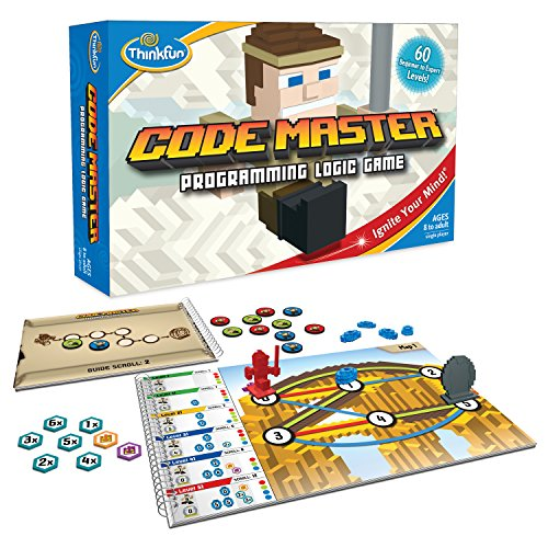 Think Fun Code Master Programming Logic Game