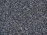 21 kg Steinteppich-Boden, Marmor 2-4mm + Bindemittel, im Mischeimer (Grigio Carbone)