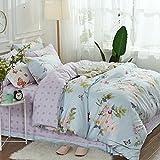 BB.er Reine Baumwolle Frühling und Sommer Bettwäsche kleine frische Serie weichen atmungsaktiven Textil verpackt, CH 038 T, 200 * 230 CM