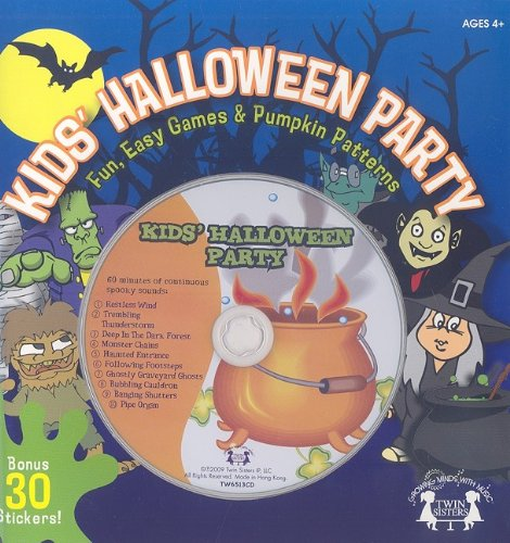 Kids Halloween Party Book & Audio CD (Twin Sisters Productions: Growing Minds with Music)