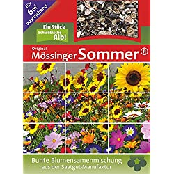 Blumenmischung Original Mössinger Sommer für 6 m² von Saatgut-Manufaktur
