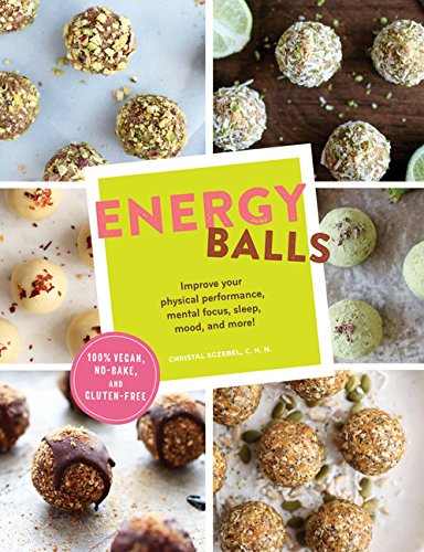 Energy Balls: Improve your physical performance, mental focus, sleep, mood, and more! -