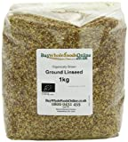 Buy Whole Foods Organic Ground Linseed 1 Kg
