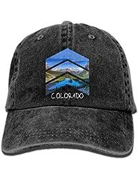 44fb9469231f5 helen vi Estados Unidos Bandera de Oklahoma Sombrero Denim Gorra de béisbol  Lavada Ajustable para Mujer