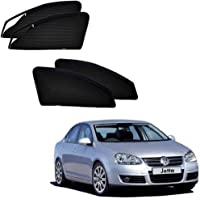 Kozdiko Zipper Magnetic Sun Shades Car Curtain for Volkswagen Old Jetta (2008-2015)