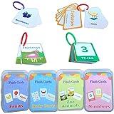 BSTCAR 90 Feuilles Carte Cognitive, Carte Détude Cartes Déducation Précoce, Carte Déducation Précoce Flash Cards, Jeux Montes