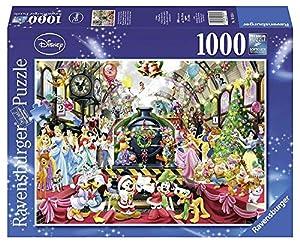 Disney - Puzzle, diseño El Tren de la Navidad, 1000 Piezas (Ravensburger 19553)