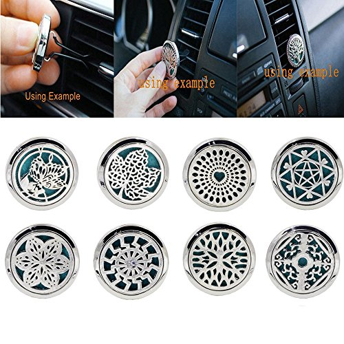 IGEMY-10-Style-Stainless-Car-Air-Vent-Freshener-Essential-Oil-Diffuser-Locket