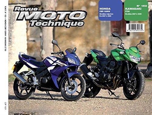 Kawasaki Z750 ; Honda CBR125R par ETAI