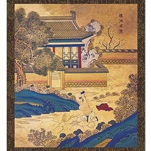 Peinture Rouleau Scène Folklorique Corée Piété Filiale