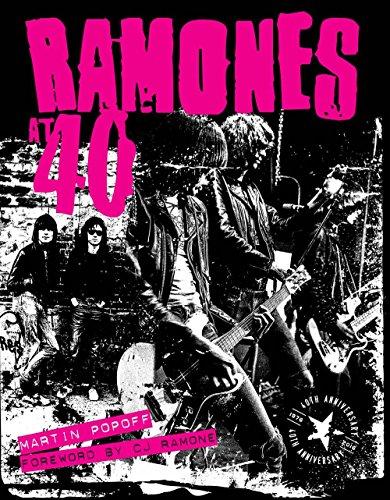 Ramones at 40 por Martin Popoff