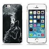Fubaoda Coque iPhone 6(6s), [Wolf] Ultra Slim TPU Silicone Haute Qualité Téléphone Portable Coque pour iPhone 6(6s)