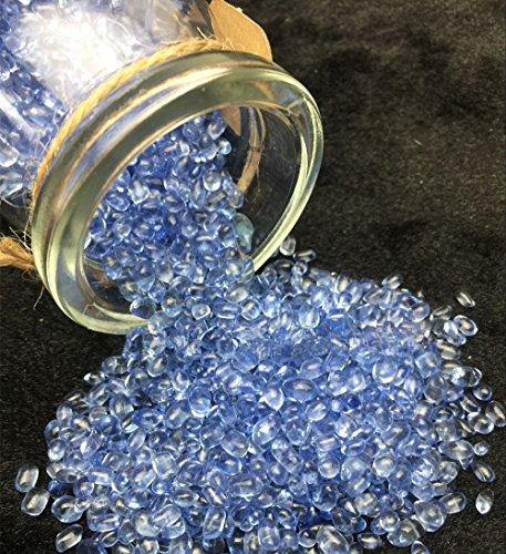 AITELEI Botellas de piedras preciosas de cristal natural, piedra preciosa y piedra preciosa, cristal para curar las minas, gemas de reiki Wicca Chip Stones, joyería, decoración para el hogar