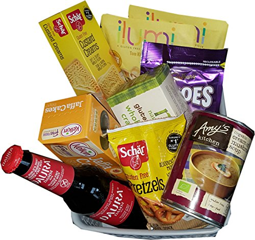 Hampers and gourmet gifts uk gluten free 100 wheat gluten free hamper with gluten free beer birthday present gift negle Choice Image