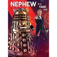 "Doctor Who ""Nephew"" Birthday Card"
