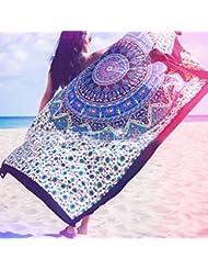 WDBS Tapis de yoga en plein air / serviettes de plage / serviettes de voyage