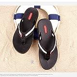 Zapatillas de goma para hombre Ocio Deportivo Zapatos de playa para verano Trend Sandalias antideslizantes para hombres ( Color : 2 , Tamaño : EU39/UK6.5/CN40 )