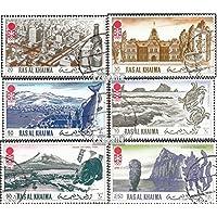 Prophila Collection Ras al Chaima 600A-605A (completa.edición.) 1972 olímpicos Juegos de Invierno ´72 (sellos para los coleccionistas)