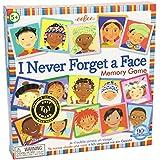 eeBoo - Memo nunca olvido una cara, juego de cartas (MGFAC3)