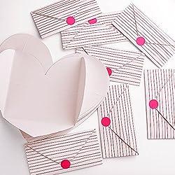 20 Piezas con Forma de Corazón