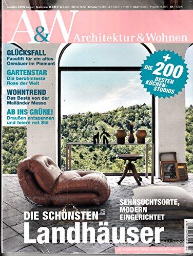 A&W Architektur & Wohnen 4 2016 Die schönsten Landhäuser Zeitschrift Magazin Einzelheft Heft Architektur