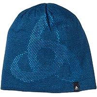 Odlo Mid GAGE Reversible Warm Bonnet Homme, Poseidon/Bluejewel, FR Fabricant : Taille Unique