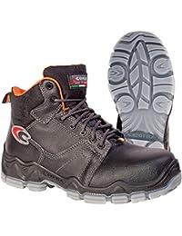 Cofra–Botas de seguridad de chiroco S3Src Wellness 20080–000zapatos Alto, color marrón