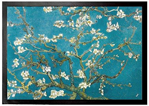 Vincent Van Gogh - Almendro En Flor, 1890 Felpudo Alfombrilla (70 x 50cm)