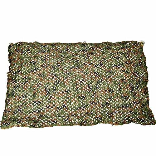Camo-blätter Jagd (KungFu Mall 5x 3m Jungle Camouflage Netz Blätter Hide Netz Camo Net für Camping Militär Jagd Woodland camouflage)
