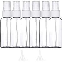 10 Pezzi (50ML) Trasparente Bottiglie Spray, MOCOCITO Flaconi Spray da Viaggio in Plastic Fine Nebbia Bottiglia con 2…